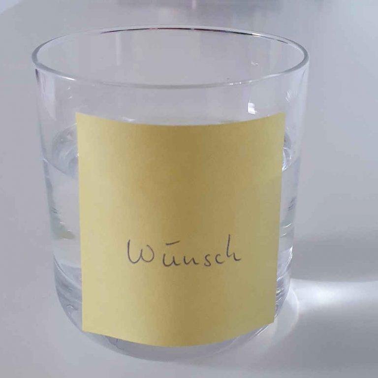 Magisches Wasser glas2
