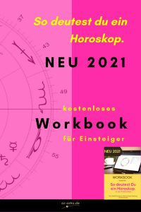 Workbook - so deutest du ein Horoskop