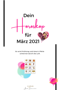 Dein Monatshorokop für März 2021